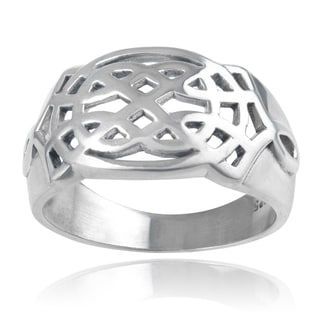 Vance Co. Men's Sterling Silver Celtic Knot Ring