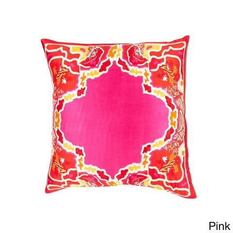 Decorative Densmore 22-inch Poly or Feather Down Filled Throw Pillow