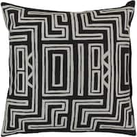 Decorative Chandler 22-inch Poly or Feather Down Filled Throw Pillow