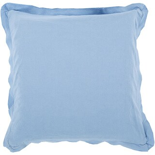 Decorative Buckingham 22-inch Poly or Down Filled Throw Pillow