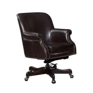 Eric Swivel Lazzaro Leather Office Chair