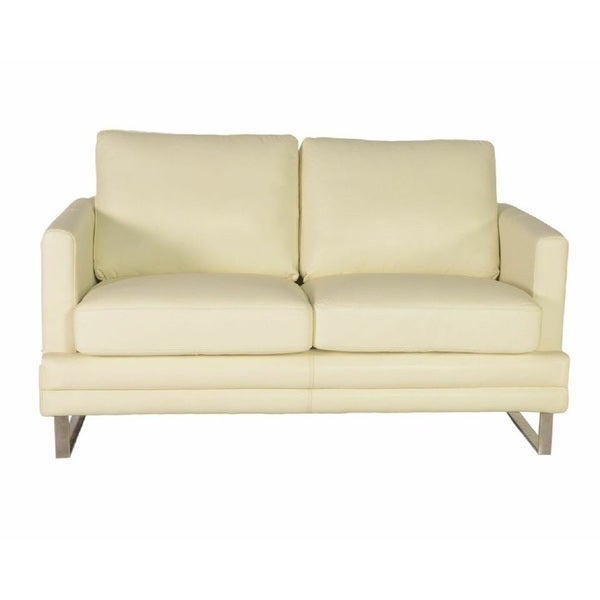 Melbourne Lazzaro Leather Loveseat Free Shipping Today