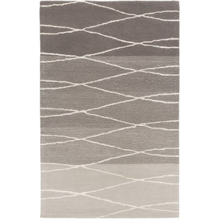 Hand-Tufted Fatima Geometric Wool Rug (2' x 3')