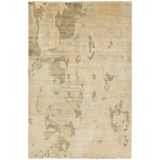 Hand-Knotted Shawna Abstract New Zealand Wool Rug (8' x 11')