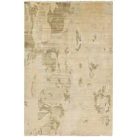 Hand-Knotted Shawna Abstract New Zealand Wool Area Rug - 9' x 13'