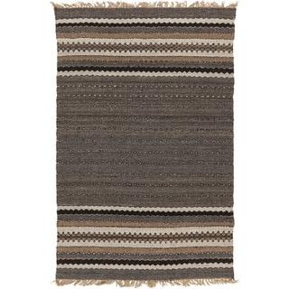 Hand-Woven Jamie Stripe Indoor Rug (8' x 10')