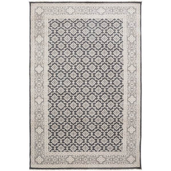 Hand-Knotted Vivienne Moroccan Trellis Wool Rug (5'6 x 8'6)