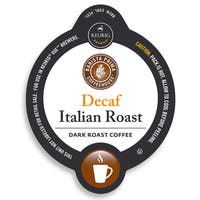 Barista Prima Coffeehouse Decaf Italian Roast Coffee,K-Cup Portion Pack for Keurig Brewers
