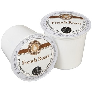 Barista Prima Coffeehouse French Roast Coffee, K-Cup Portion Pack for Keurig Brewers