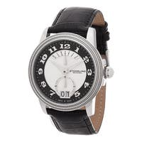 Stuhrling Original Men's Swiss Made Swiss Quartz Classique Leather Strap Watch