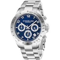 Stuhrling Original Men's  Quartz Concorso Stainless Steel Bracelet Watch