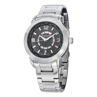 Stuhrling Original Men's Swiss Quartz Renegade Stainless Steel Bracelet Watch
