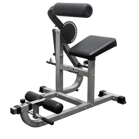 Valor Fitness DE-5 Ab/ Back Machine - White
