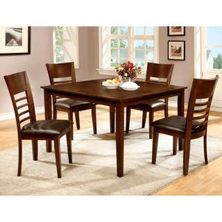 Buy Cherry Finish Kitchen Dining Room Sets Online At Overstockcom - Cherry wood high top kitchen table