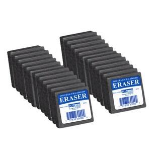 Dry Erase/ Chalk 2 x 2 x 1-inch Felt Eraser (Set of 24)