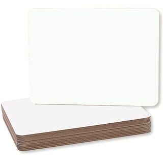 Flipside 9 x 12 x 0.125-inch Magnetic Dry Erase Board (Set of 12)