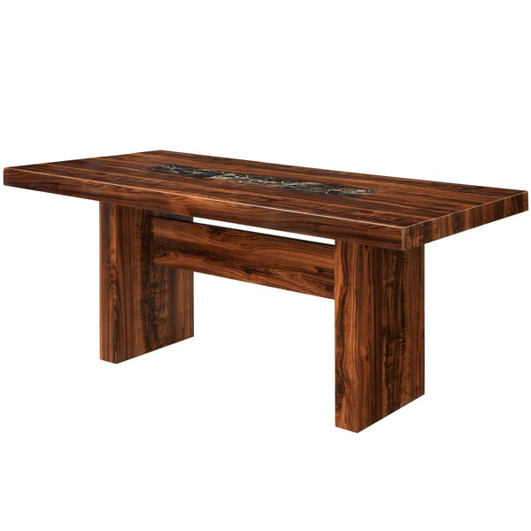 Furniture of America Kiva Contemporary Cherry 72-inch Dining Table - Brown