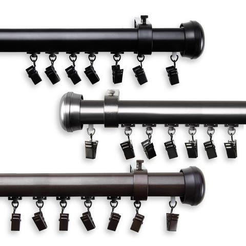 InStyleDesign Edison Cordless Traverse Rod