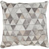 Decorative Allman 22-inch Poly or Down Filled Throw Pillow