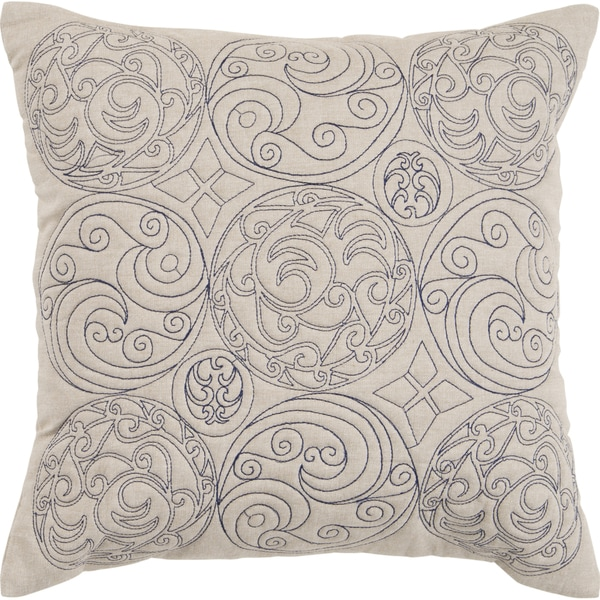Decorative Asa 22-inch Poly or Feather Down Filled Throw Pillow