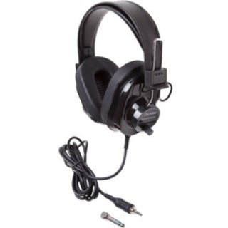 Califone Deluxe Monaural & Stereo Headphones Via Ergoguys