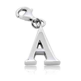Gioelli Sterling Silver Alphabet Letter Charm