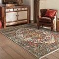 Old World Persian Red/ Multi Rug (5'3 X 7'6)