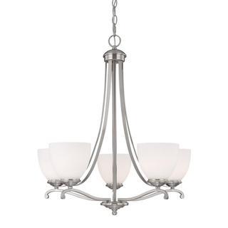 Capital Lighting Chapman Collection 5-light Matte Nickel Chandelier