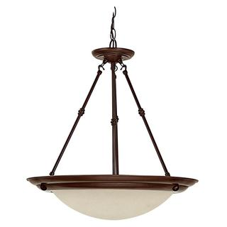 Capital Lighting Transitional 3-light Burnished Bronze Pendant