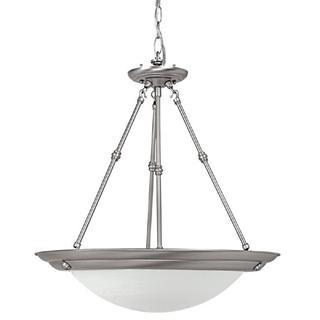 Capital Lighting Transitional 3-light Matte Nickel Energy Saver Pendant