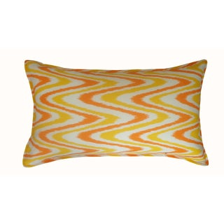 Jiti Outdoor Electricity Orange Long Pillow