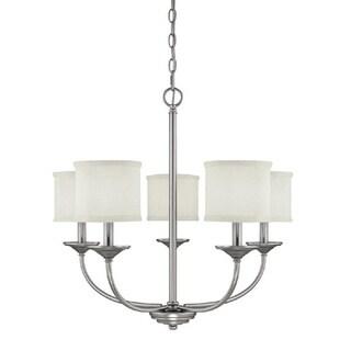 Capital Lighting Loft Collection 5-light Matte Nickel Chandelier
