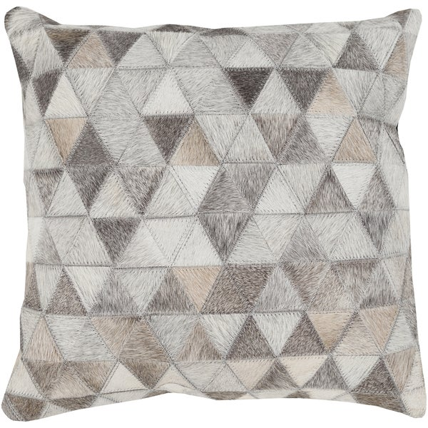 Decorative Allman 20-inch Feather Down or Poly Filled Throw Pillow