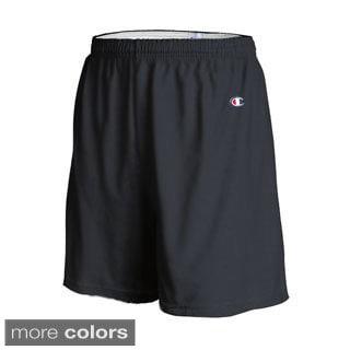 Champion Men's Cotton Gym Shorts