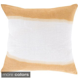 Decorative Benson 20-inch Down or Poly Filled Throw Pillow