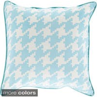 Decorative Collins 20-inch Feather Down or Poly Filled Throw Pillow