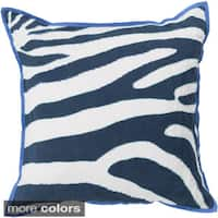 Decorative Danelli 20-inch Feather Down or Poly Filled Throw Pillow