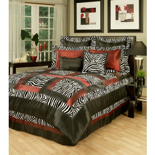 Sherry Kline Jungle Passage Zebra Royale Luxury 8-piece Comforter Set