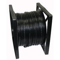 RG59 Black Siamese 18/2 Power 24/2 Data Cable (500 Feet)