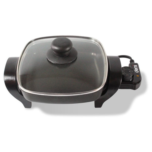 Large Electric Skillet With Lid
