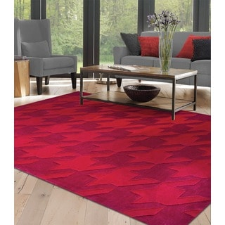 Red Hound Area Rug (5' x 8')