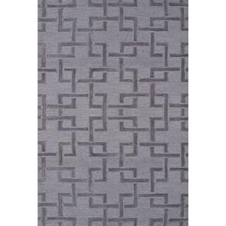 Shimmer Grey Area Rug (4'8 x 7'8)