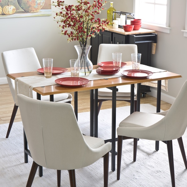 Cherry Convertible Dining Table & Shop Cherry Convertible Dining Table - Free Shipping Today ...