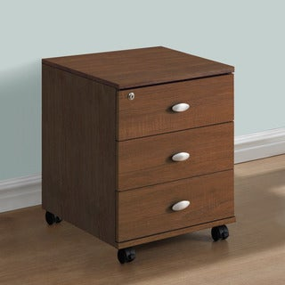 CorLiving Folio Three Drawer Storage Cabinet