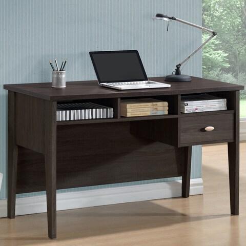 CorLiving Folio Black Espresso Single-drawer Desk