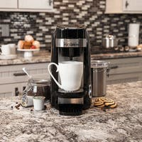 Hamilton Beach Black FlexBrew Plus Single Serve Coffee Maker