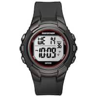 Timex T5K642M6 Men's Marathon Digital Full-size Gunmetal Grey/ Red Watch