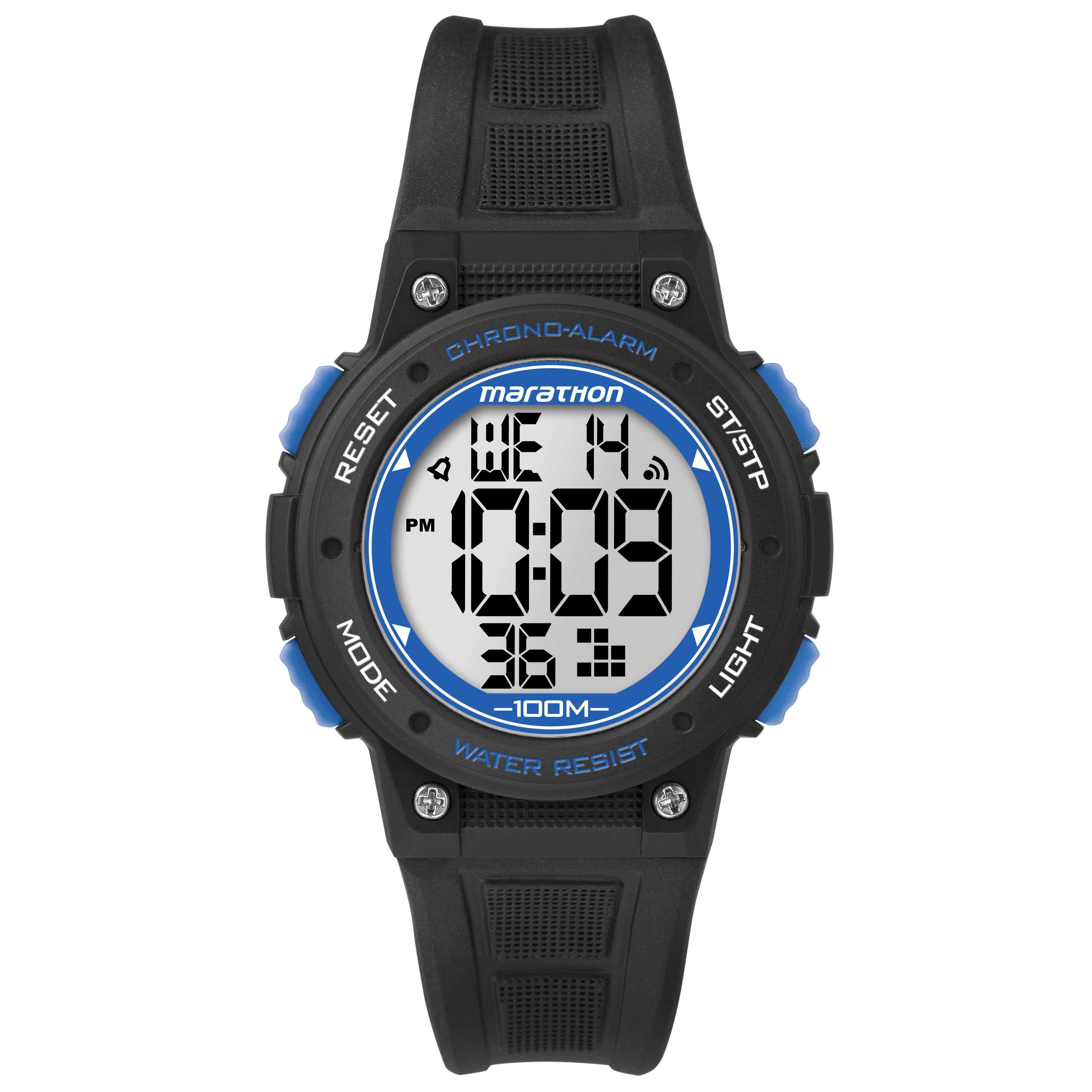 Timex TW5K84800M6 Marathon Digital Mid-size Black/ Blue R...