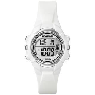 Timex T5K806M6 Unisex Marathon Digital Mid-Size White Watch https://ak1.ostkcdn.com/images/products/9941308/P17096411.jpg?impolicy=medium