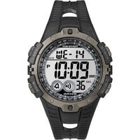 Timex  Men's Marathon Digital Full-size Black/ Grey Watch